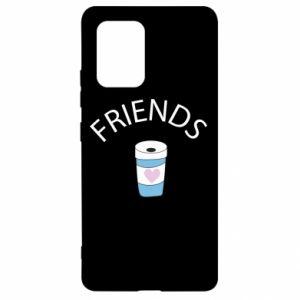 Etui na Samsung S10 Lite Friends coffee