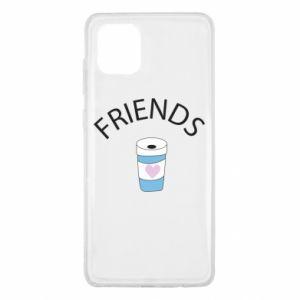 Etui na Samsung Note 10 Lite Friends coffee