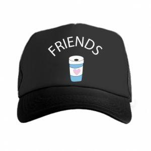 Czapka trucker Friends coffee