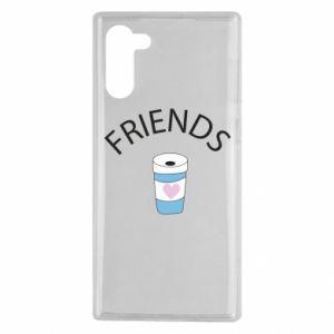 Etui na Samsung Note 10 Friends coffee