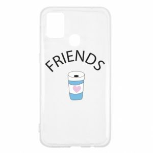 Etui na Samsung M31 Friends coffee