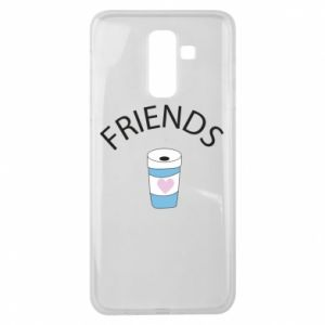 Etui na Samsung J8 2018 Friends coffee