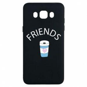 Etui na Samsung J7 2016 Friends coffee