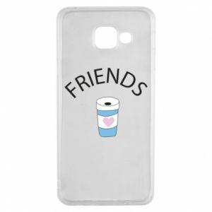 Etui na Samsung A3 2016 Friends coffee