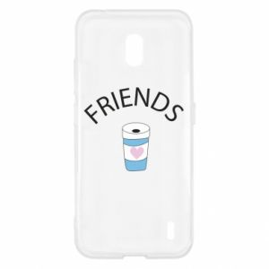 Etui na Nokia 2.2 Friends coffee
