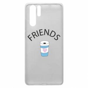 Etui na Huawei P30 Pro Friends coffee
