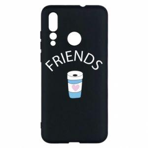 Etui na Huawei Nova 4 Friends coffee