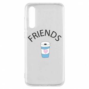Etui na Huawei P20 Pro Friends coffee