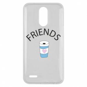 Etui na Lg K10 2017 Friends coffee