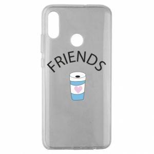 Etui na Huawei Honor 10 Lite Friends coffee