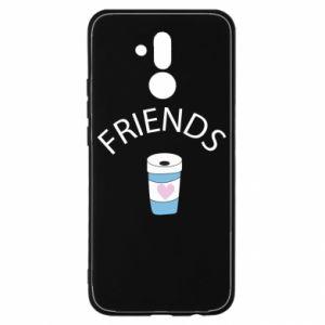 Etui na Huawei Mate 20 Lite Friends coffee