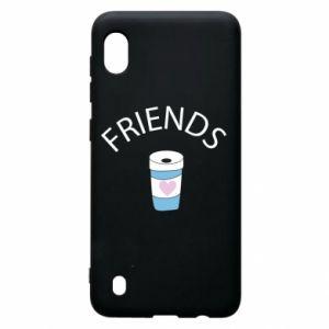Etui na Samsung A10 Friends coffee