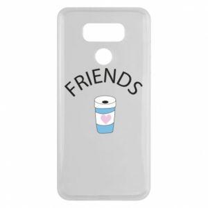 Etui na LG G6 Friends coffee