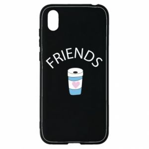 Etui na Huawei Y5 2019 Friends coffee