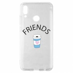 Etui na Huawei P Smart 2019 Friends coffee
