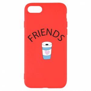 Etui na iPhone SE 2020 Friends coffee