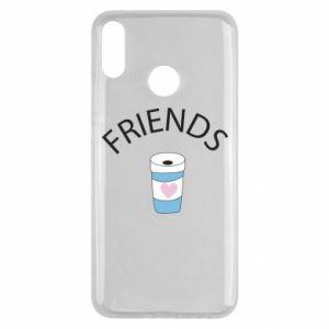 Etui na Huawei Y9 2019 Friends coffee