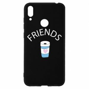 Etui na Huawei Y7 2019 Friends coffee
