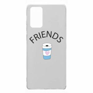 Etui na Samsung Note 20 Friends coffee