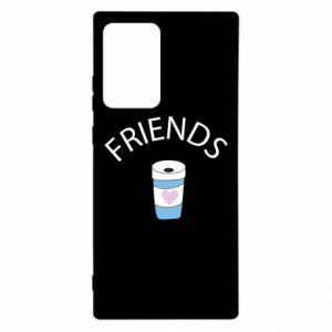 Etui na Samsung Note 20 Ultra Friends coffee