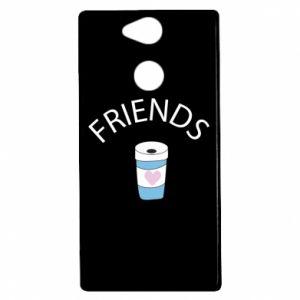 Etui na Sony Xperia XA2 Friends coffee