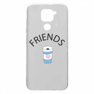 Etui na Xiaomi Redmi Note 9/Redmi 10X Friends coffee