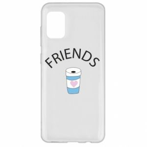 Etui na Samsung A31 Friends coffee