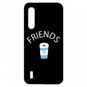Etui na Xiaomi Mi9 Lite Friends coffee