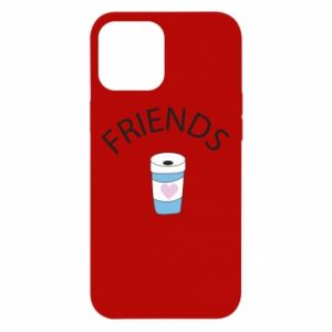 Etui na iPhone 12 Pro Max Friends coffee