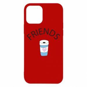 Etui na iPhone 12/12 Pro Friends coffee