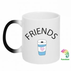 Kubek-kameleon Friends coffee