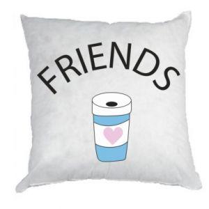 Poduszka Friends coffee