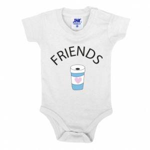 Body dziecięce Friends coffee