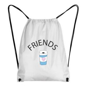 Plecak-worek Friends coffee
