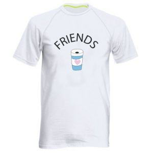 Koszulka sportowa męska Friends coffee