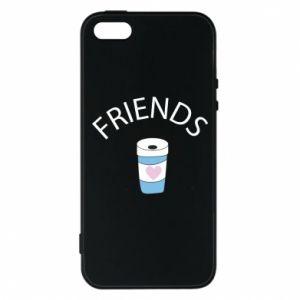 Etui na iPhone 5/5S/SE Friends coffee
