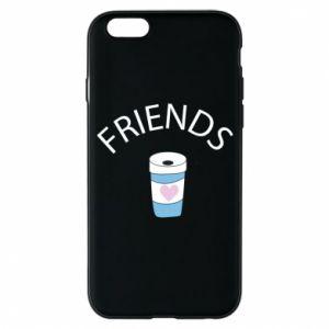 Etui na iPhone 6/6S Friends coffee