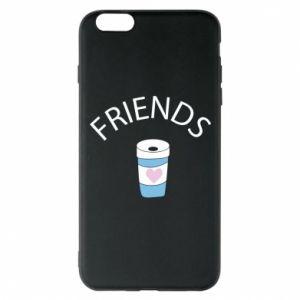 Etui na iPhone 6 Plus/6S Plus Friends coffee