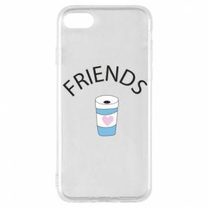 Etui na iPhone 8 Friends coffee