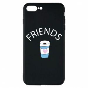 Etui na iPhone 8 Plus Friends coffee