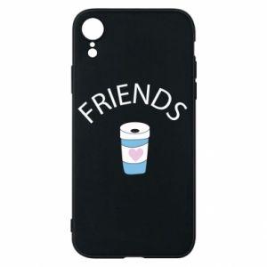 Etui na iPhone XR Friends coffee