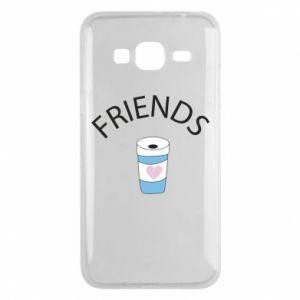 Etui na Samsung J3 2016 Friends coffee