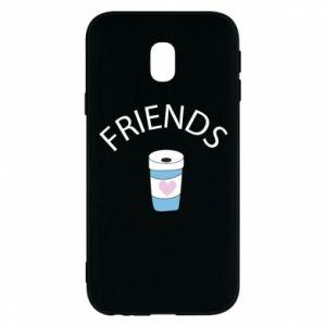 Etui na Samsung J3 2017 Friends coffee