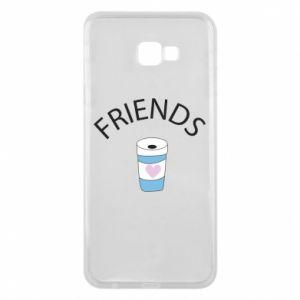Etui na Samsung J4 Plus 2018 Friends coffee