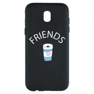 Etui na Samsung J5 2017 Friends coffee
