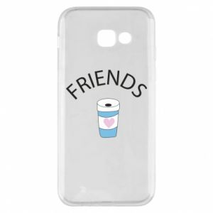 Etui na Samsung A5 2017 Friends coffee