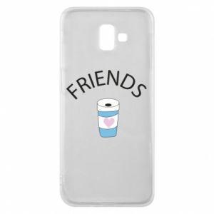 Etui na Samsung J6 Plus 2018 Friends coffee