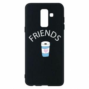 Etui na Samsung A6+ 2018 Friends coffee