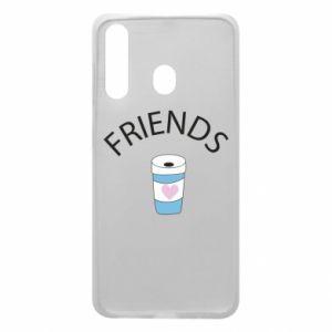 Etui na Samsung A60 Friends coffee