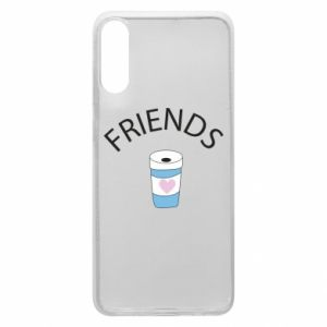 Etui na Samsung A70 Friends coffee